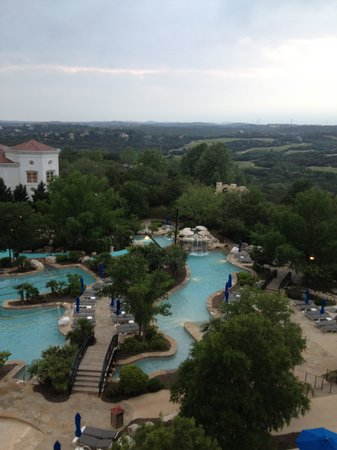 Westin La Cantera Hill Country Resort: Our view from the room