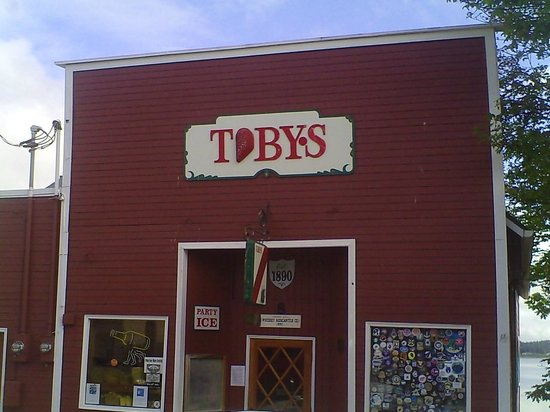 Coupeville, WA: Toby's at the waterfront