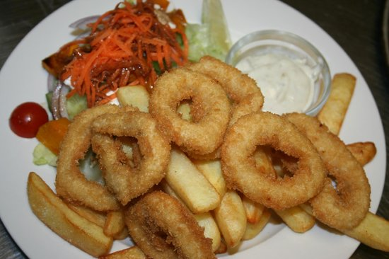 Dunkeld, Australien: Calmari &amp; Chips
