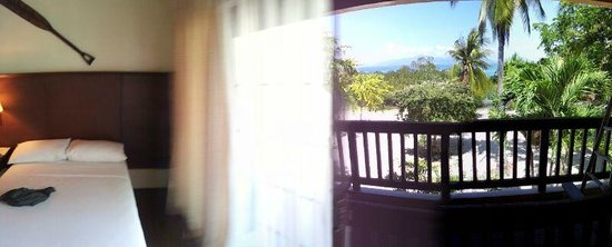 Dos Palmas Island Resort & Spa: panoramic view of room