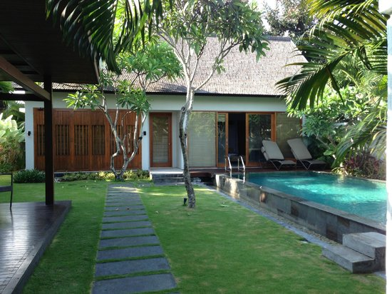 The Samaya Bali: villa and pool