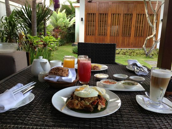 The Samaya Bali: breakfast