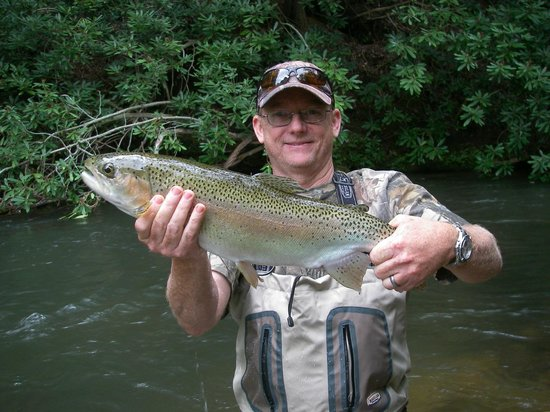 Big N GA Rainbow  Picture Of Reel39em In Guide Service  Private Tours