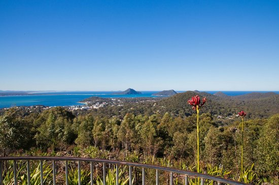 Nelson Bay, Australia: Splendid views of Port Stephens.