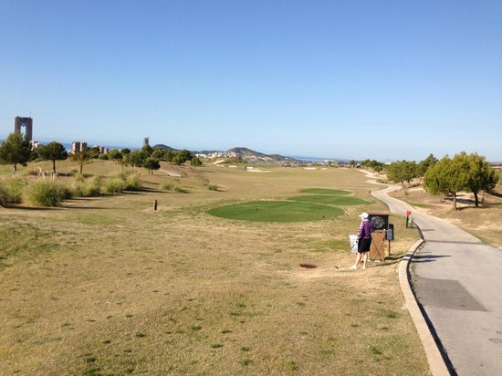 Melia Villaitana: 1st Tee at Poniente