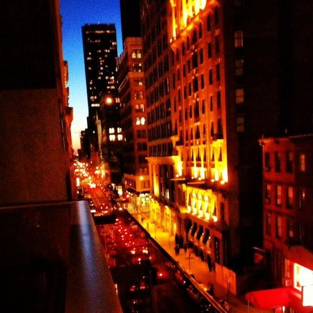 Gansevoort Park Avenue NYC: New York at night