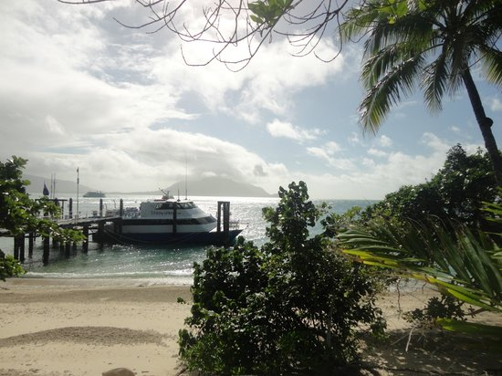 Fitzroy Island Resort: The ferry over