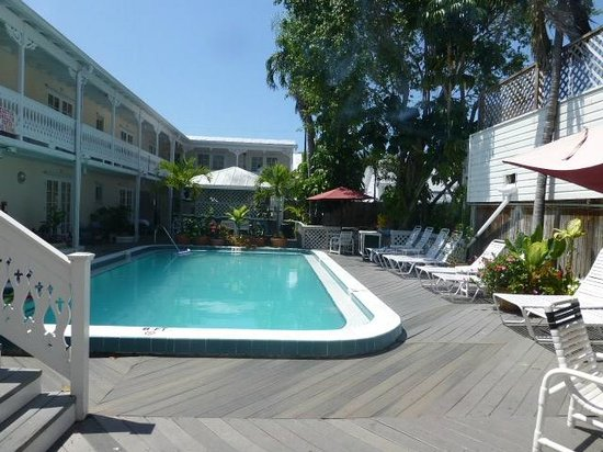 The Palms Hotel- Key West: Unser Pool