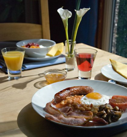 Yelverton, UK: Breakfast