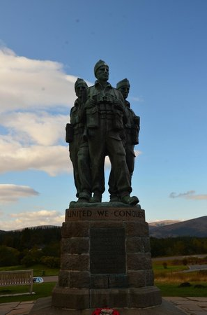 Spean Bridge, UK: The Memorial