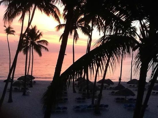 Dreams Palm Beach Punta Cana: Early Sunrise