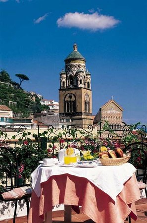 Hotel Amalfi: Veduta sala colazioni