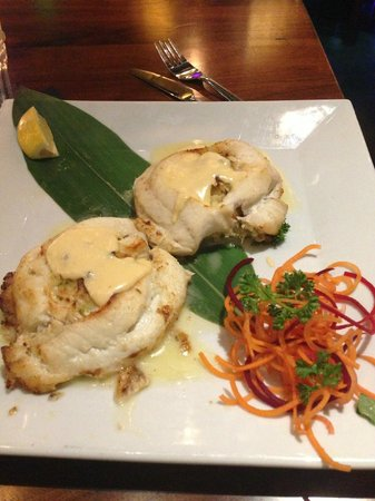 North Miami, FL: Fish wrapped with Crab meat (to die for)