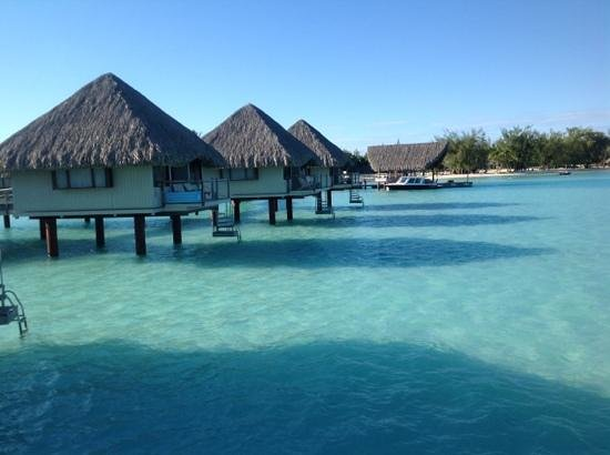 Le Meridien Bora Bora: view from room 210