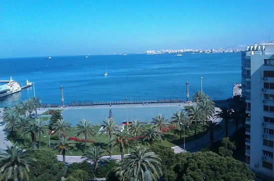 Swissotel Grand Efes Izmir: View from the room on the 8th floor
