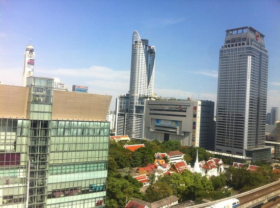 Novotel Bangkok on Siam Square: View from my room