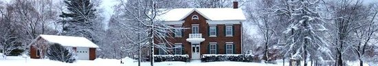 Nauvoo, IL: Willard Richards Inn - Winter