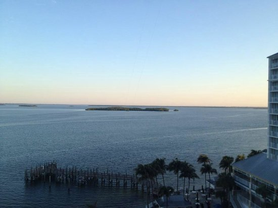 Sanibel Harbour Marriott Resort & Spa: 7th floor view in the morning