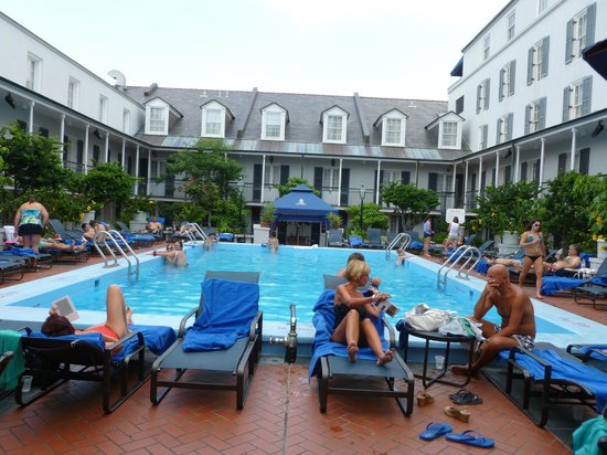 Royal Sonesta Hotel New Orleans: BEST POOL AREA IN NEW ORLEANS!