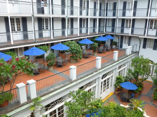 ‪‪Royal Sonesta Hotel New Orleans‬: Courtyard area‬