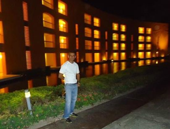 Hard Rock Hotel &amp; Casino Punta Cana: Jardines impecables y vista nocturna