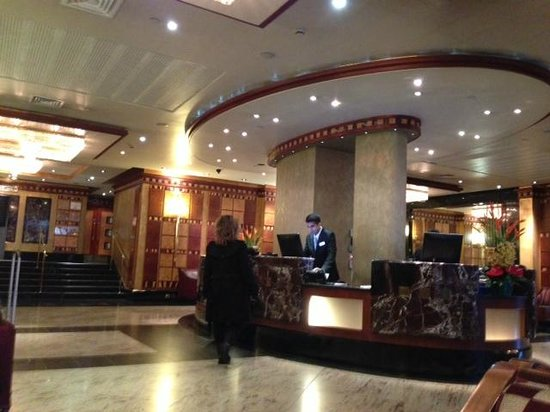 Grange City Hotel: Welcoming lobby