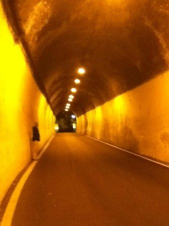 The tunnel to Atrani