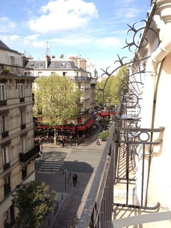 Hotel Europe Saint Severin: View from the 5th floor balcony