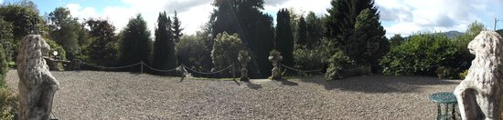 Callander, UK: Panorama of the Terrace View