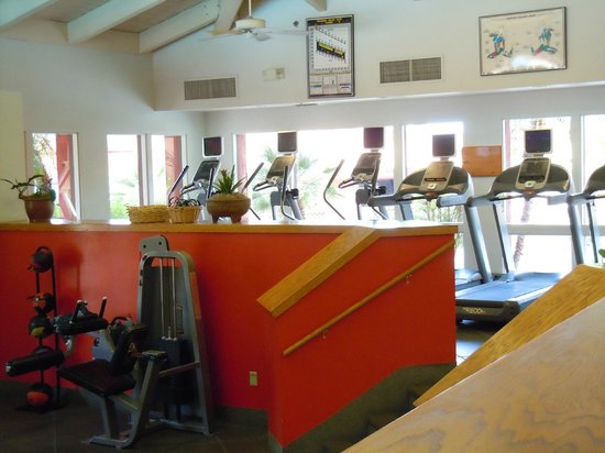 Pointe Hilton Tapatio Cliffs Resort: Work out area