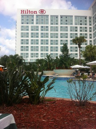 Hilton Orlando: Near the Lazy River