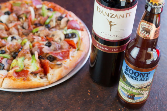 Meridian, ID: Pair your pizza with your favorite beer/wine!