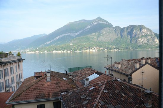 Hotel Bellagio: View from our room on 2nd floor