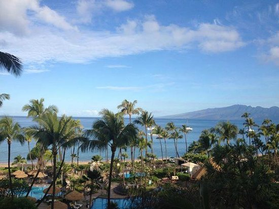Westin Maui Resort And Spa : View from the 7th Floor Ocean Tower 