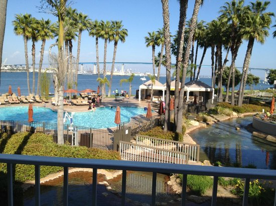 Marriott Coronado Island Resort: 2nd floor balcolny view