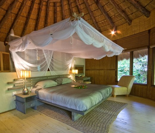 Thonga Beach Lodge: Bedroom Interior