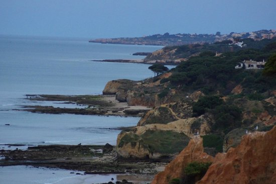 Sheraton Algarve Hotel: view from edge