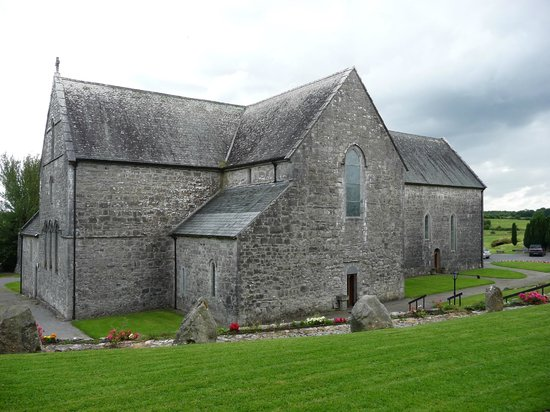 County Mayo, Ireland: North view of abbey church