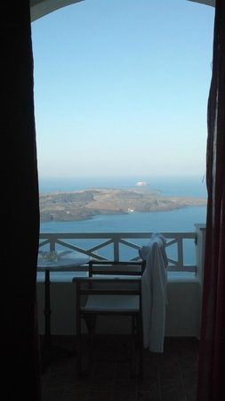 Villa Ilias: The view from bed