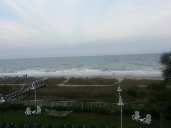Hampton Inn &amp; Suites Myrtle Beach Oceanfront Resort: More pics from the Balcony