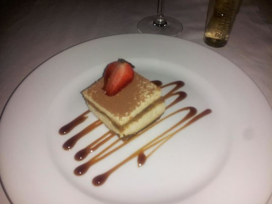 Bel Air Collection Resort & Spa Cancun: tiramisu