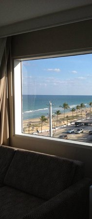 B Ocean Fort Lauderdale: view from the room