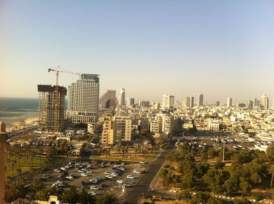 InterContinental David Tel Aviv: View from the room