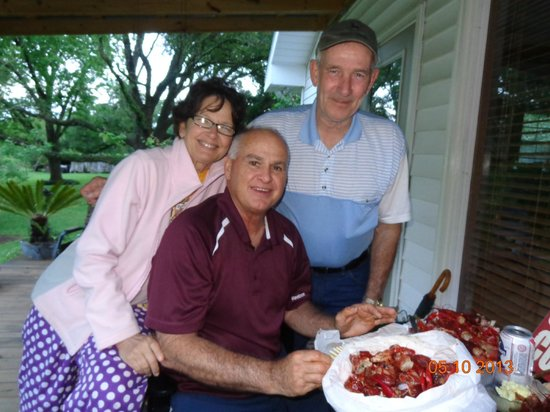 Abbeville, LA: Our great host and hostess