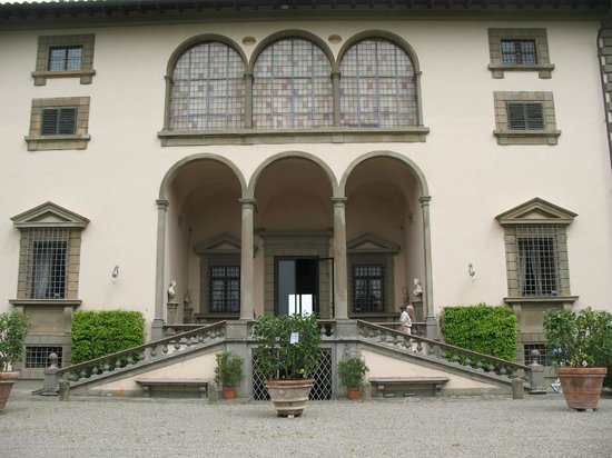 Montopoli in Val d'Arno, Italie : Front of the Villa