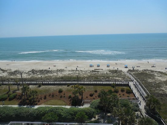 Courtyard by Marriott Carolina Beach: view from our room 7th floor