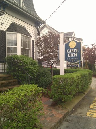 Carpe Diem Guesthouse & Spa: Main entrance