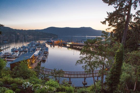 Brentwood Bay Resort & Spa: Ocean view from the resort