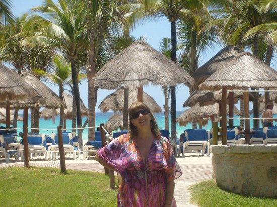 Sandos Playacar Beach Resort & Spa: Zona de Playa