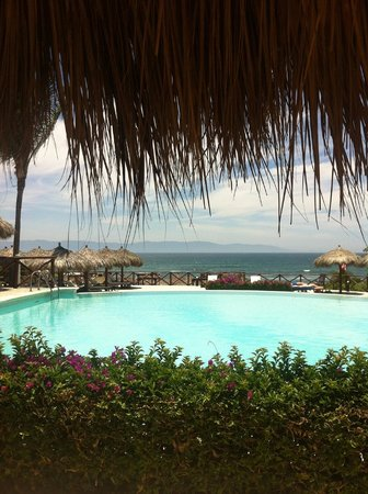 The Royal Suites Punta Mita by Palladium: beautiful view from the pool